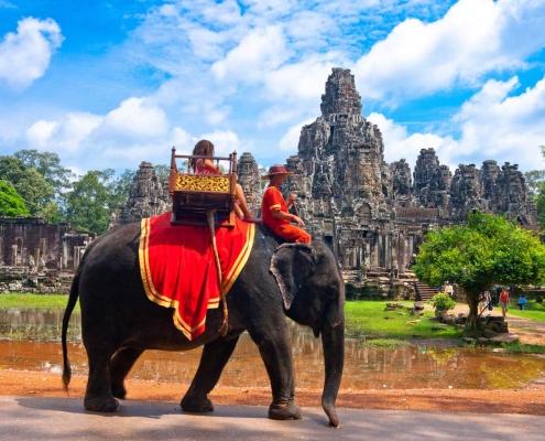 Elephant Ride - Siem Reap, Cambodia