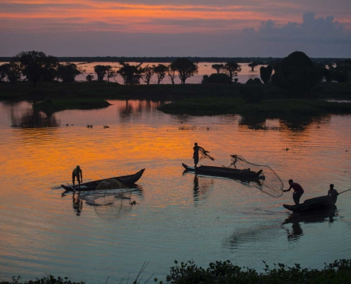 Tonle Sap Lake Fisherman - Siem Reap, Cambodia