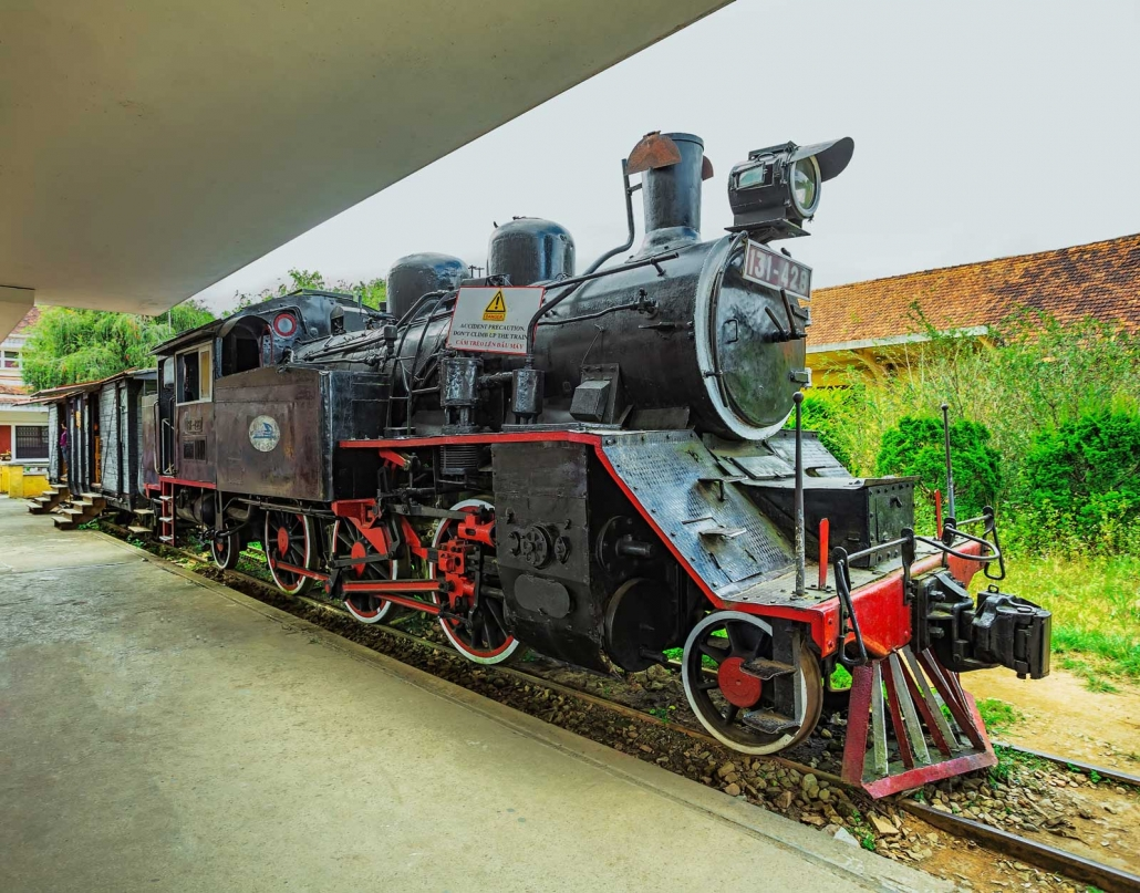 Historic Train Station - Da Lat, Vietnam
