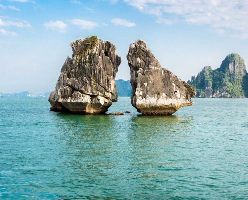 Ha Long Islets, Vietnam