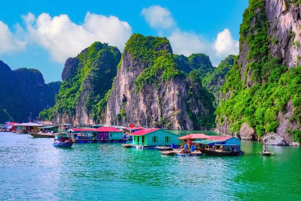 Floating Fishing Village - Ha Long, Vietnam