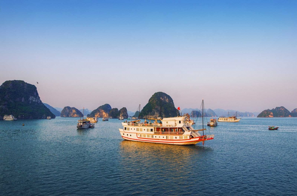 Morning on Ha Long Bay, Vietnam