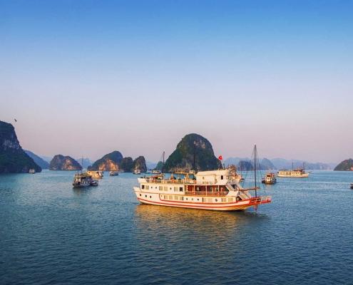 Morning on Ha Long Bay, Vietnam