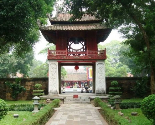 Temple of Literature - Hanoi, Vietnam