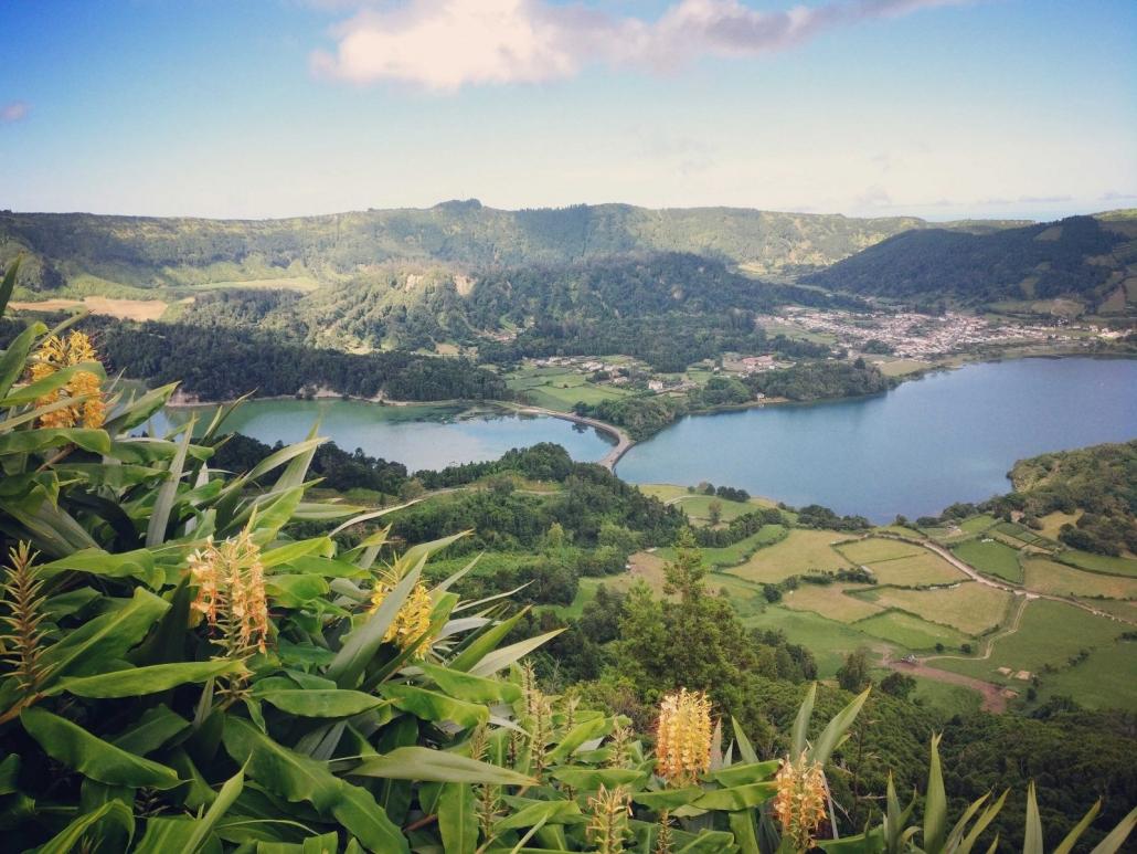 Lagoa das Sete Cidades Açores Portugal
