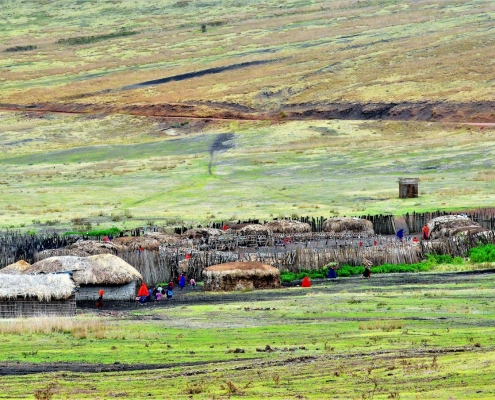 Maasai Boma Ngornogoro